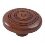 Wooden Engraved Knob 420TK